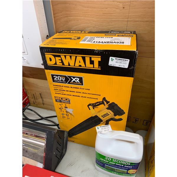 NEW DEWALT DCBL722B HANDHELD BLOWER TOOL ONLY