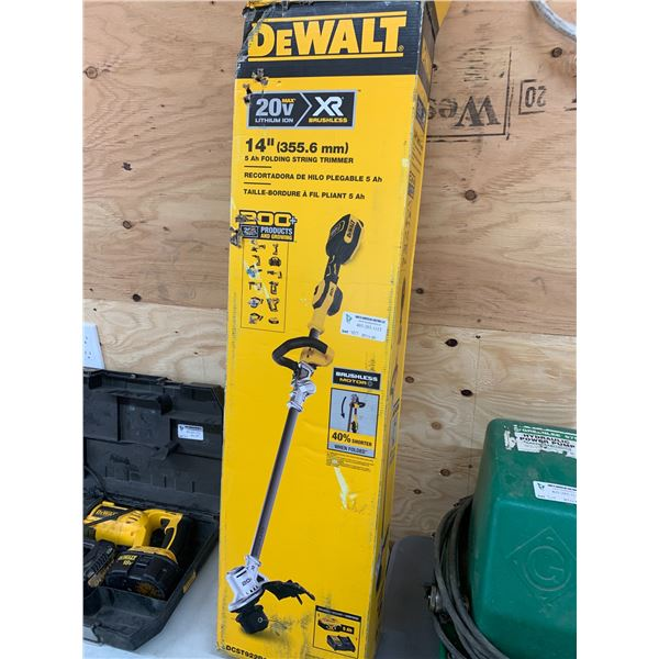 DEWALT DCST922P1 14 INCHH STRING TRIMMER W/ CHARGER ONLY