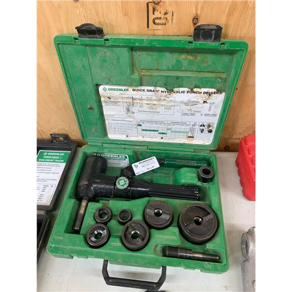GREENLEE QUICK DRAW HYDRAULIC PUNCH DRIVER