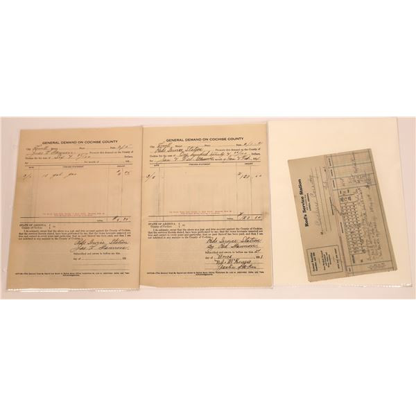 Three Cochise County Documents  [127995]