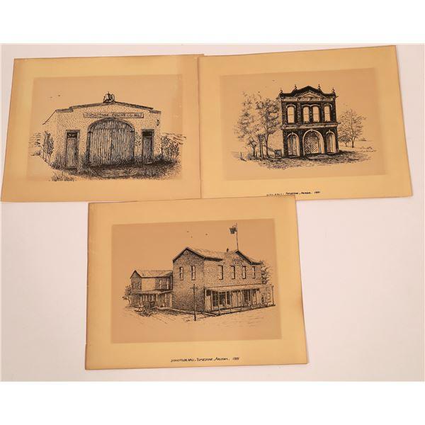 Old Tombstone Prints (3)  [140504]