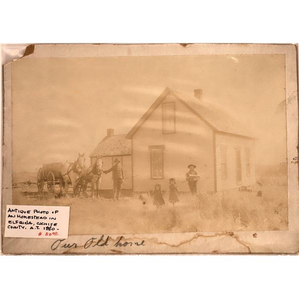Old Cochise County Farmhouse Photo  [140487]