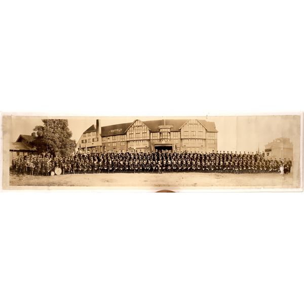Panoramic Photograph of the Grand Encampment of the I.O.O.F., Eureka, CA  [139418]