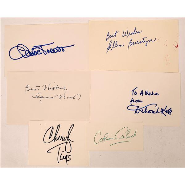 Actress Autograph Cuts Part 3 (6)  [127667]