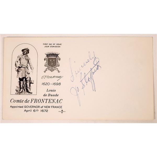 Band Singers Frances Langford & Jo Stafford Autograph Cuts  [131721]