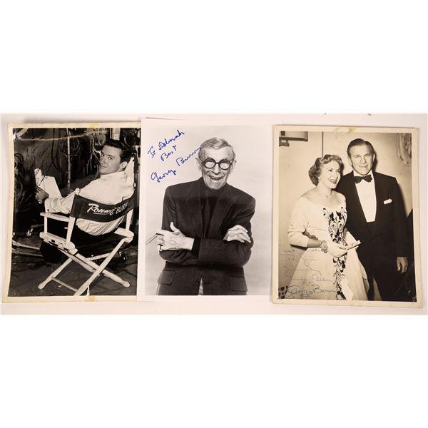 Burns & Allen Autographed Photos  [131737]