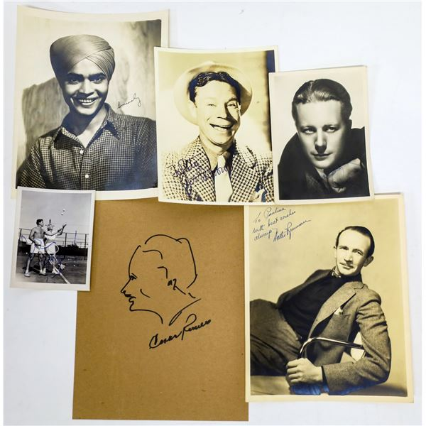 Character Actor Autographed Photos (6)  [131645]