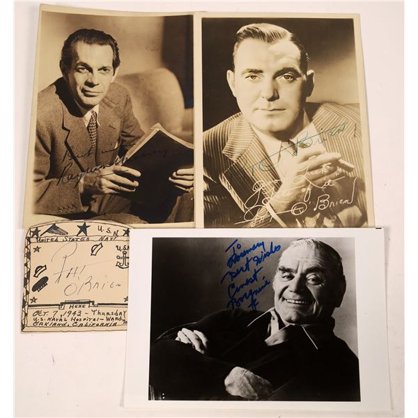 Character Actor Autograph Trio (3)  [131736]