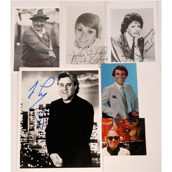Funny TV People Autographed Photos (6)  [127676]