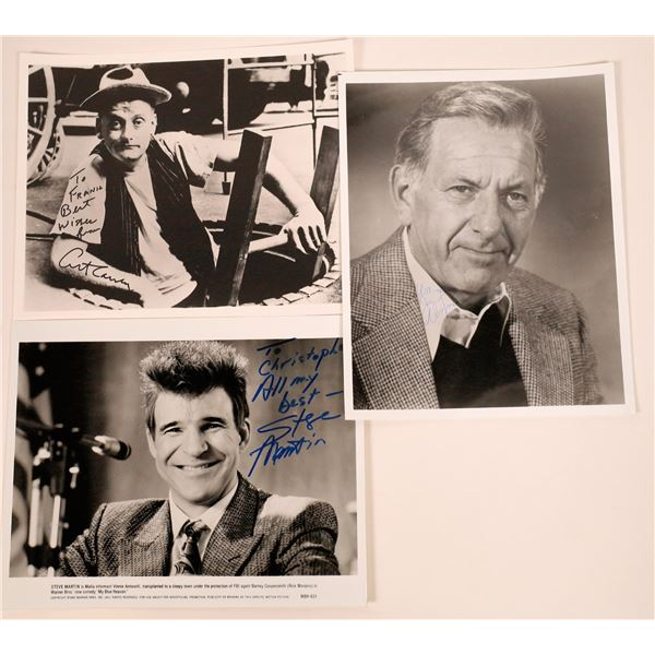 Three Funny Guys Inscribed & Signed Photos (3)  [128983]