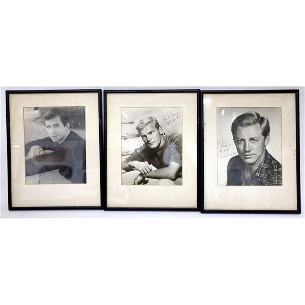 Hollywood Actor Autographs (3)  [139133]