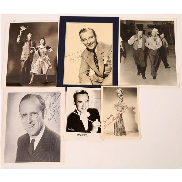 Hollywood Music Star Signature Photos (5)  [131748]