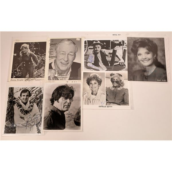 Inscribed & Signed TV Star Photos (7)  [128968]