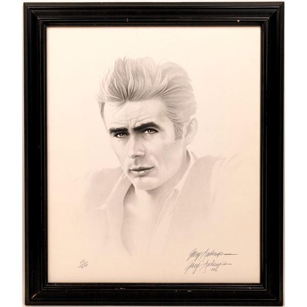 Artist Signed James Dean Sketch  [141061]