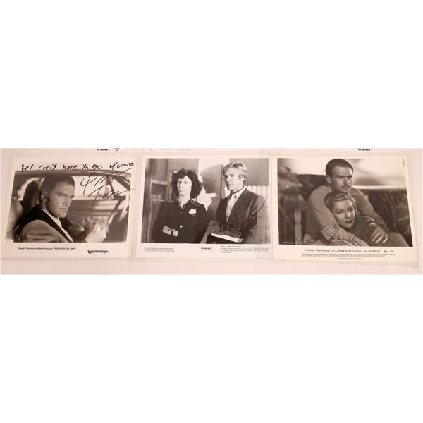 Leading Men & One Director Signed & Inscribed Photos (4)  [128969]