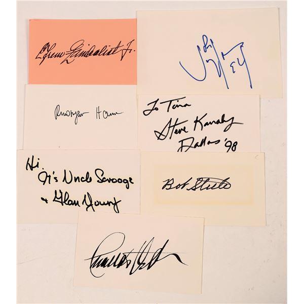 Leading Men Signature Cuts & Cards (7)  [127668]