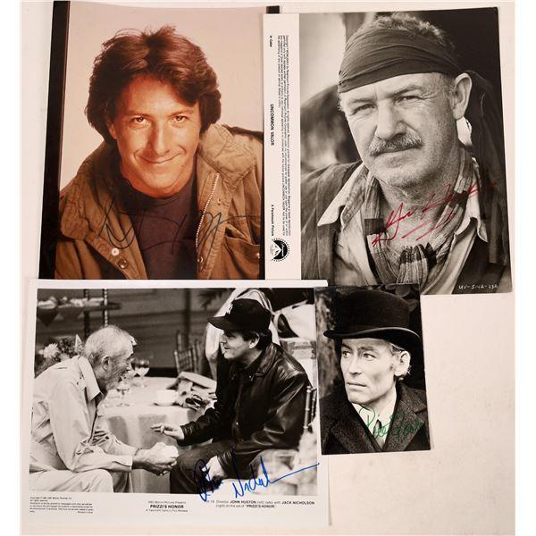 Oscar Nominated Actors Autographed Photos (4)  [127028]