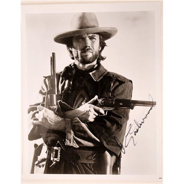 Signed Clint Eastwood Photo  [128184]