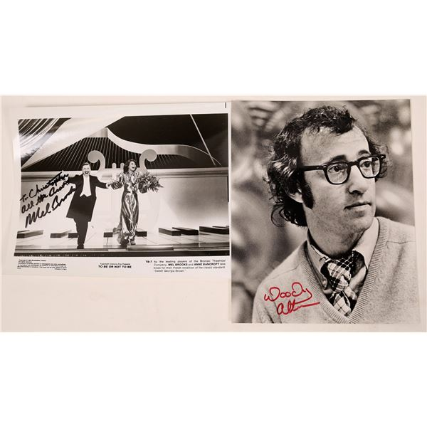 Two Comedy Classic Filmmakers Signed Photos (2)  [128180]