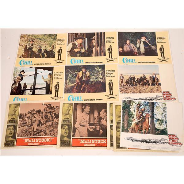 Movie Lobby Cards, John Wayne Themed  [139950]