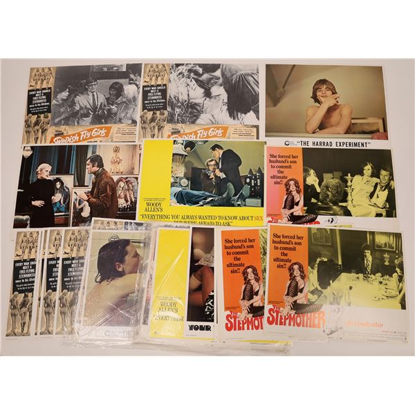 Movie Lobby Cards, Sex Humor & Pin Up Themed  [139948]