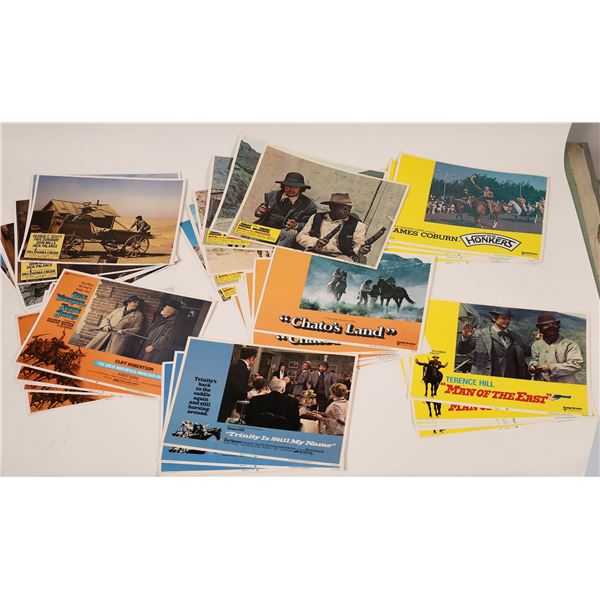 Movie Lobby Cards, Western Themed  [139947]
