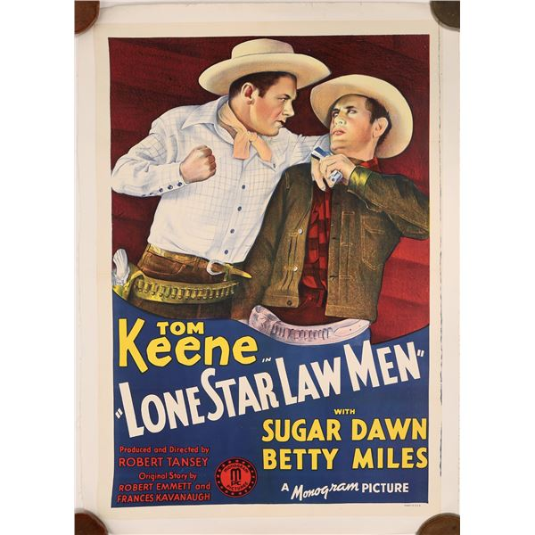 Lone Star Law Men Movie Poster  [139739]