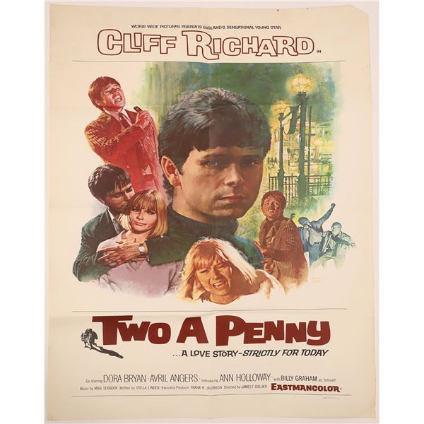 """Movie Posters: """"The Last Tycoon""""/ """"Two A Penny"""" / """"Santa and the Three Bears""""  [140052]"""