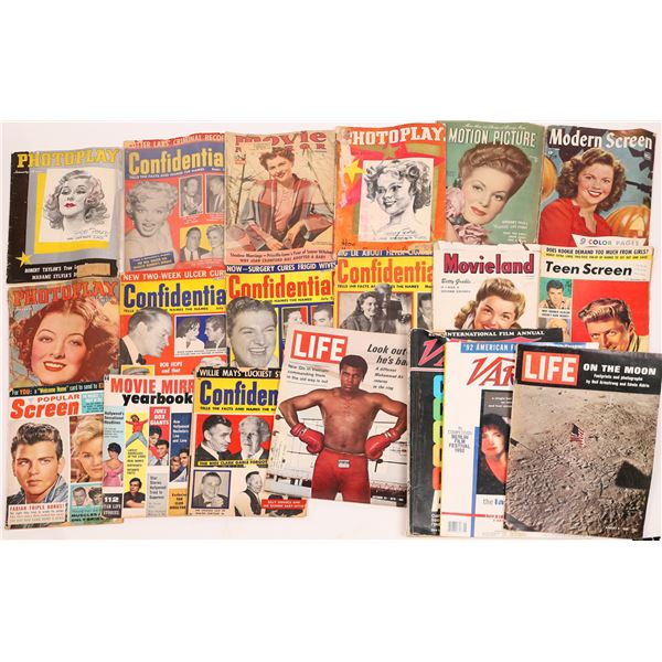 Vintage Hollywood Magazine Collection  [139640]