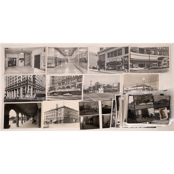 Vintage LA Street Scene Photographs Circa 1940s-1950s  [140037]