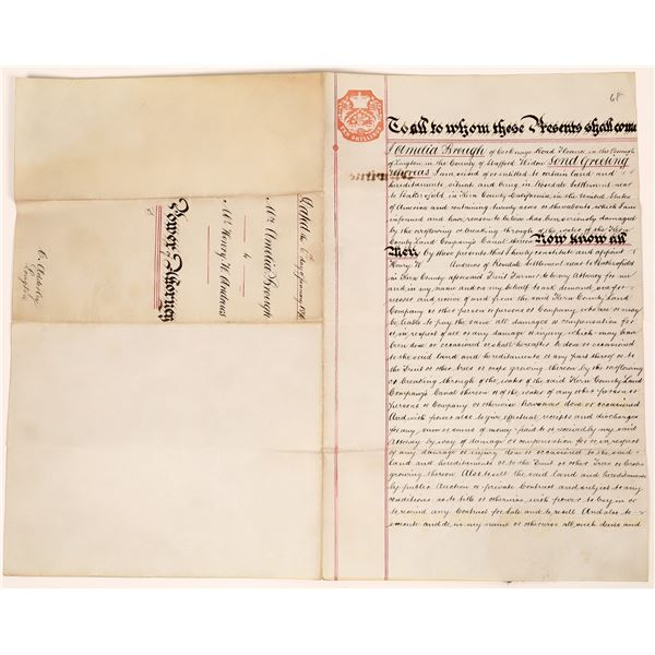 Kern River Land Company Canal / Rosedale Document  [139159]