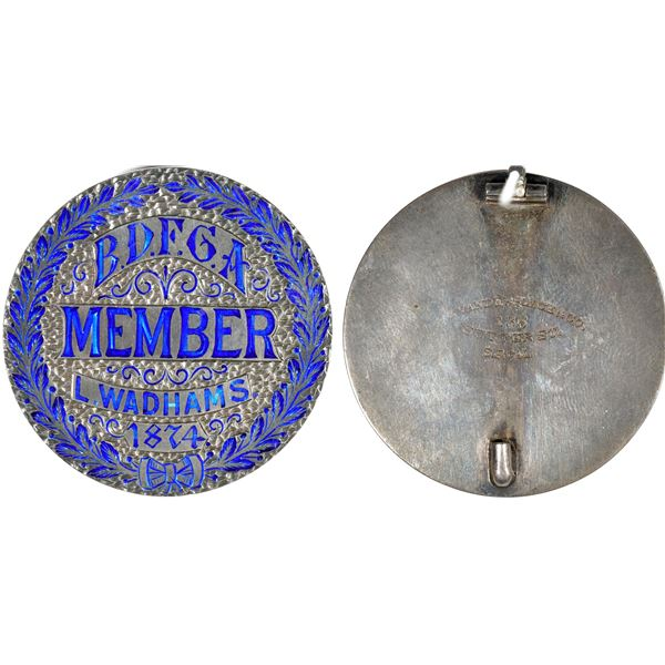 Bay District Fair Grounds Association Member Badge  [140803]