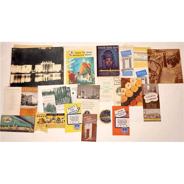 Golden Gate International Exposition Collection  [138508]