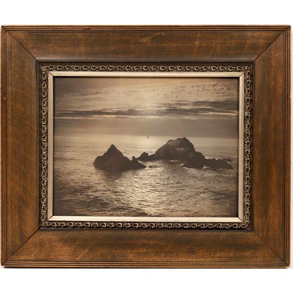 W. E. Worden Pacific Ocean Photograph  [139634]