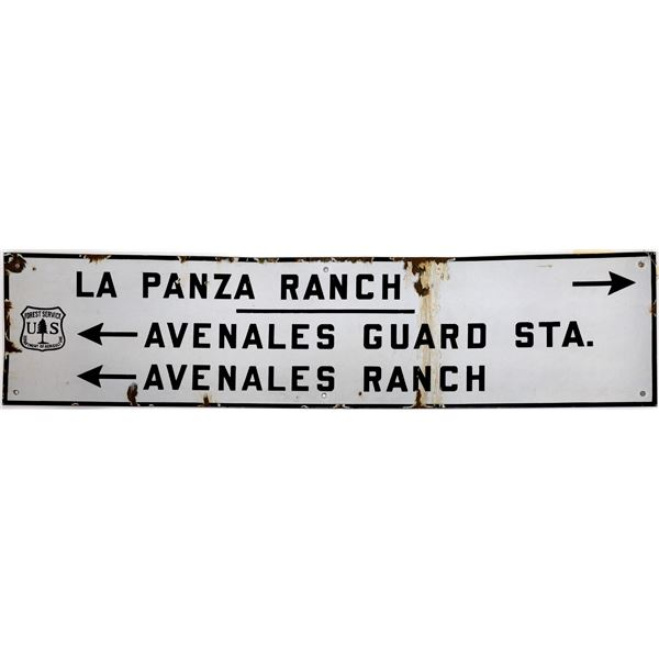 Metal Directional Sign from US Forest Service  [139377]