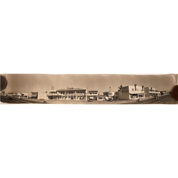 1940s San Mateo Main Street Panorama  [139759]