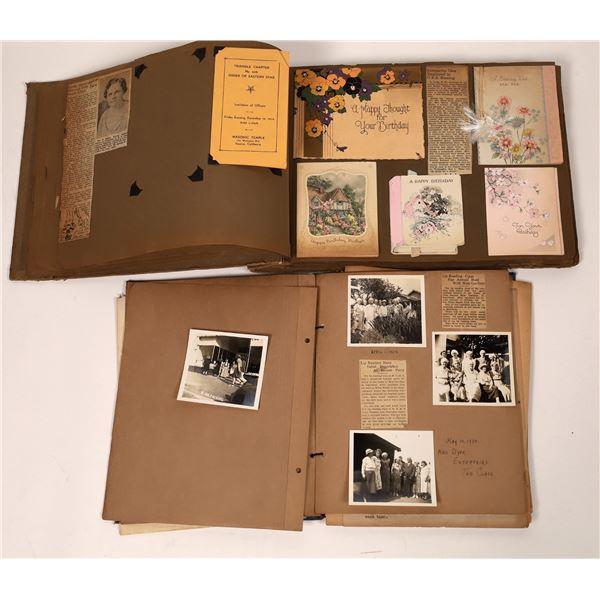 Albums (2) of Santa Monica Masonic Chapter & Three Beach Society of California   [139126]