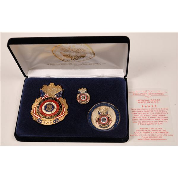 Federal Police Officer Badge Commemorating the 57th Inauguration of the President 2013  [139392]