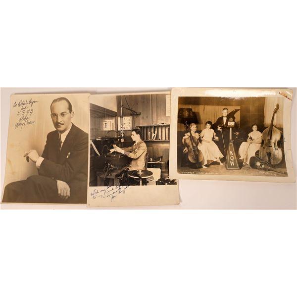Harry Owens and Hawaiian Musical Photographs  [138372]