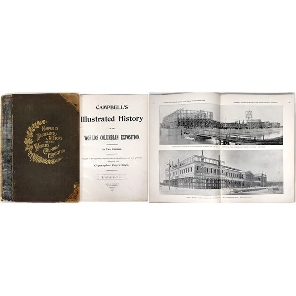 Campbell's Illustrated History of the World's Columbian Exposition  [139271]
