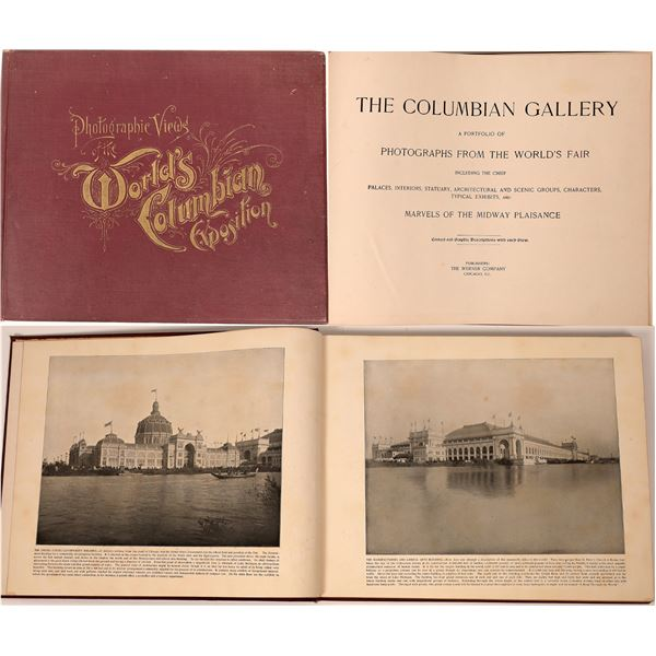 Photographic Views of the World's Columbian Exposition  [138368]