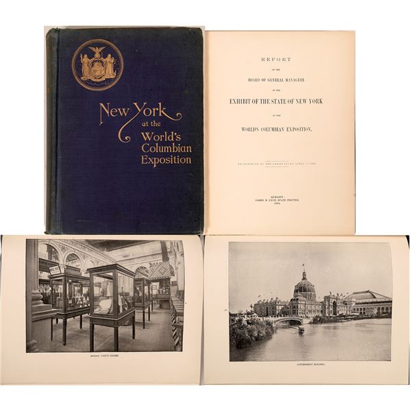 Report of the State of New York at the World's Columbian Exposition  [139022]