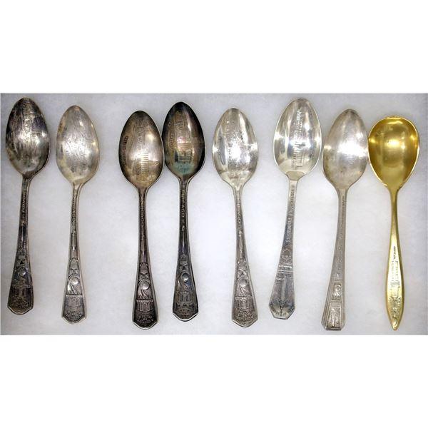 Century of Progress Exposition Spoons (8)  [139130]