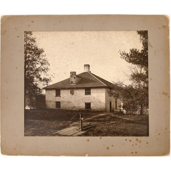 Photograph of the First Building at Notre Dame University  [138366]
