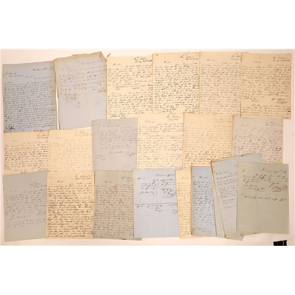 Lumber Business Correspondence 1844-1848, Milton, Florida and New Orleans  [140684]