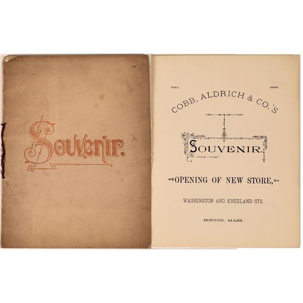 Souvenir Cobb, Aldrich & Co.'s Opening of New Store  [139188]