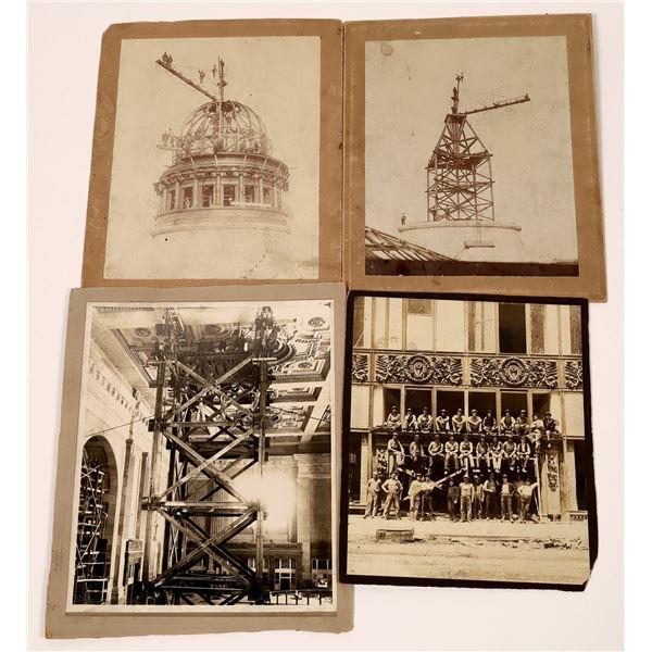 Vintage Photographs of Kansas City Building Dome Construction  [139326]