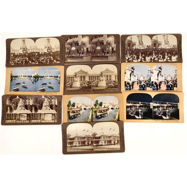 Stereo View Cards from the St. Louis World's Fair  [137895]