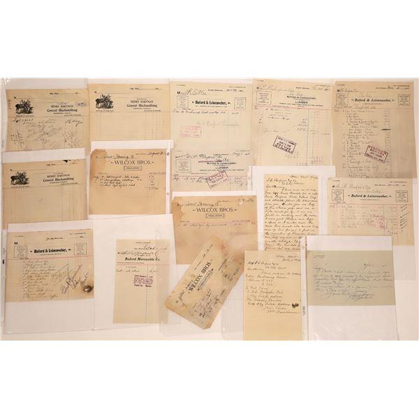 Alder Letter Correspondence Collection  [140880]