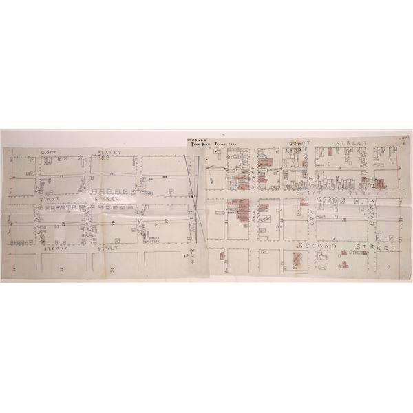 1886 Sanborn Fire Insurance Map for Anaconda  [140538]